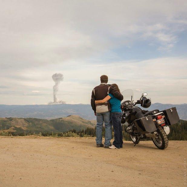 Atomic Overlook: Атомный взрыв как туристический объект на фото Клэя Липски. Изображение № 6.