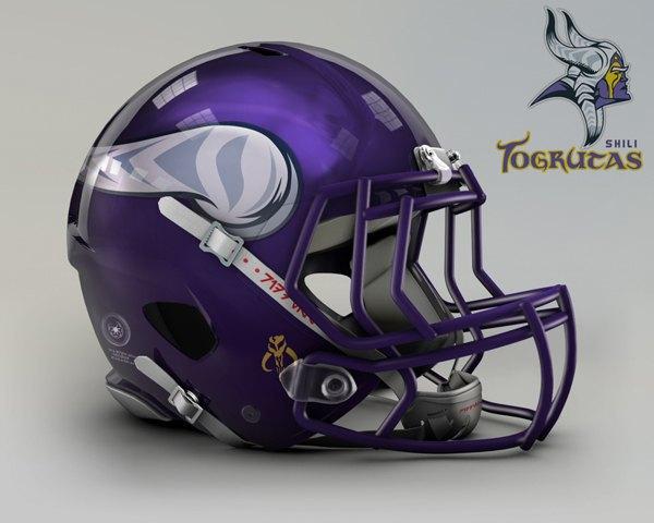 Мексиканец создал коллекцию футбольных шлемов, посвящённую «Звёздным войнам». Изображение № 11.