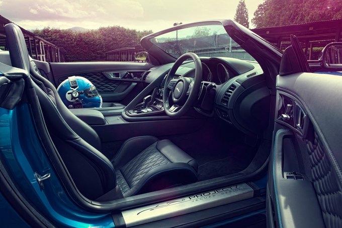 Jaguar представили родстер Project 7. Изображение № 4.