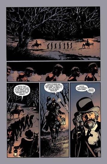Вышли комиксы по фильму Тарантино «Джанго освобожденный». Изображение № 3.