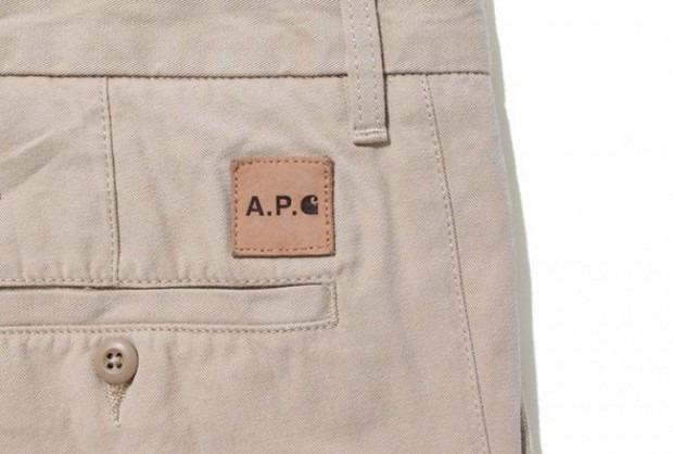 Марки A.P.C. и Carhartt WIP представили совместную коллекцию одежды. Изображение № 6.