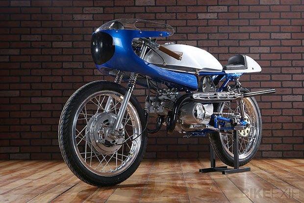 Мастерская Air-Tech Streamlining собрала новый мотоцикл на базе Suzuki Stinger. Изображение № 2.