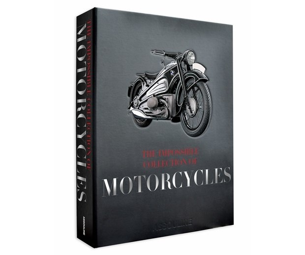 Вышла книга The Impossible Collection of Motorcycles. Изображение № 1.