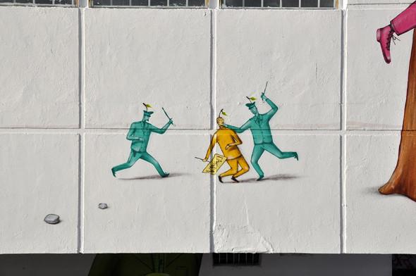 Скетчбук: Участники граффити-дуэта из Киева Interesni Kazki рассказывают о своих лучших работах. Изображение № 45.