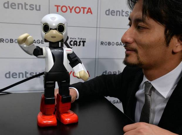 Японцы отправили на орбиту говорящего робота. Изображение № 1.