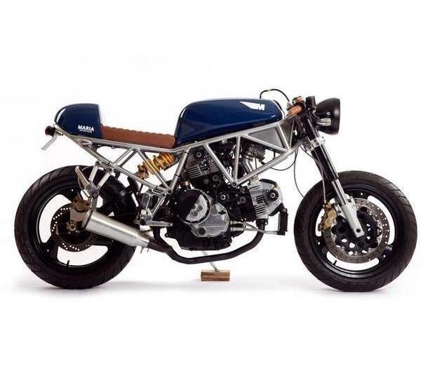Португальская мастерская Maria Motorcycles представила мотоцикл Italian Sniper. Изображение № 1.