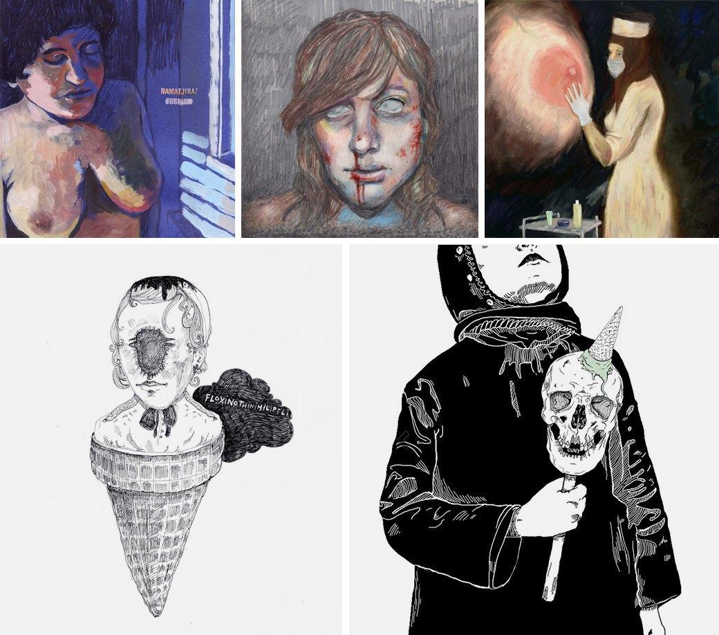 5 российских панк-художников, на которых стоит обратить внимание. Изображение № 2.