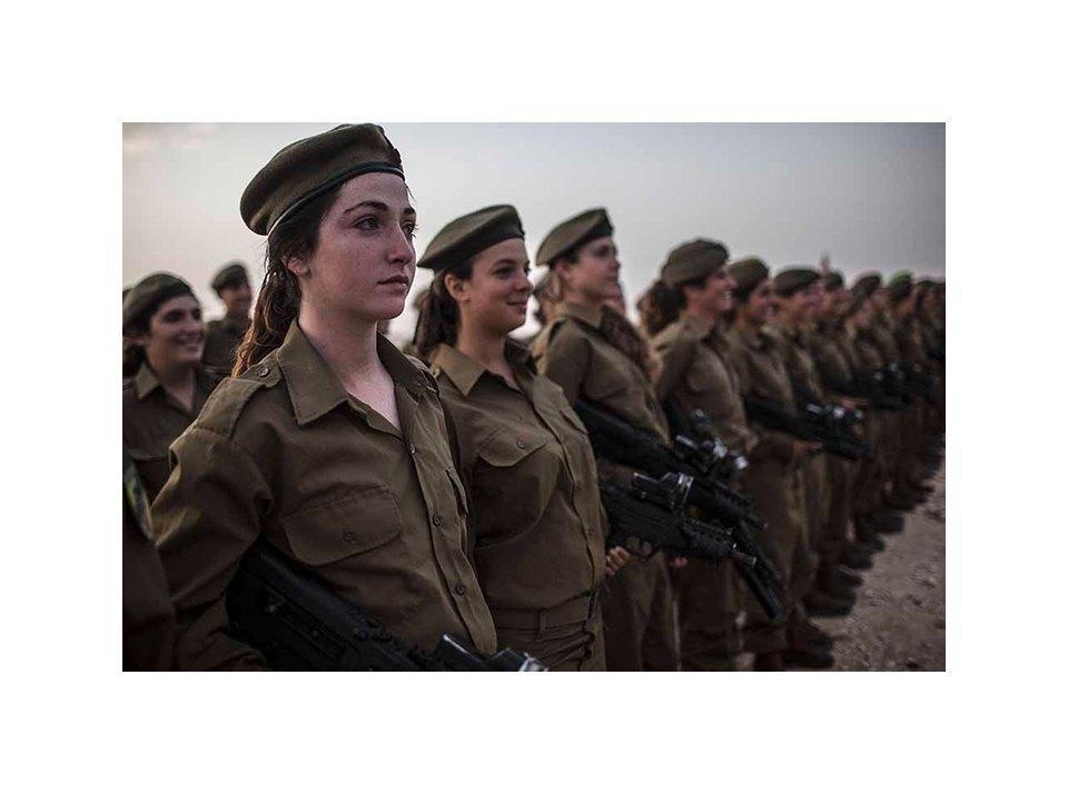 Фотопроект: Как служат женщины в армии Израиля. Изображение № 9.