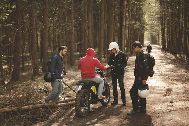 Репортаж со съемок тест-драйва мотоцикла Kawarna. Изображение № 14.