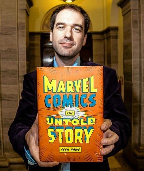 Вышла книга о создателях комиксов «Marvel». Изображение № 1.
