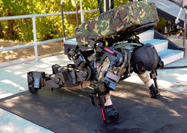 Военные США протестировали новый экзоскелет. Изображение № 1.