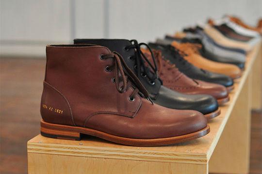Превью новой коллекции обуви марки Common Projects. Изображение № 5.