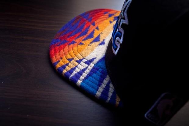 Genesis Project совместно с Pendleton выпустили коллекцию кепок с символикой команд НБА. Изображение № 13.