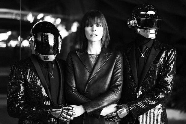Группа Daft Punk и Милла Йовович снялись для журнала CR Fashion Book. Изображение № 2.
