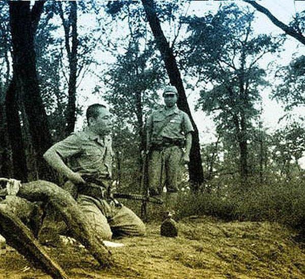 В сети появились уникальные кадры харакири японского офицера . Изображение № 1.