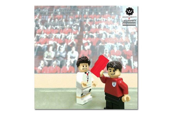 Малайзиец воссоздал исторические моменты футбольных чемпионатов из LEGO. Изображение № 7.