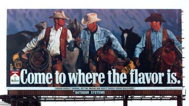 Бывший «ковбой Мальборо» умер от заболевания, вызванного курением. Изображение № 1.