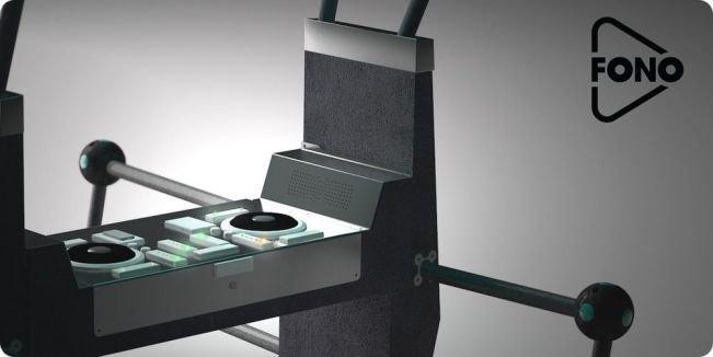 Голландская компания Yalp Interactive изобрела антивандальный DJ-контроллер из бетона . Изображение № 1.