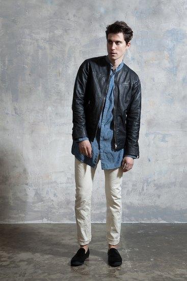 Японская марка Nonnative выпустила лукбук осенней коллекции одежды. Изображение № 17.