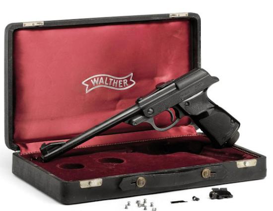 Пистолет «Вальтер» Джеймса Бонда выставили на аукцион . Изображение № 2.