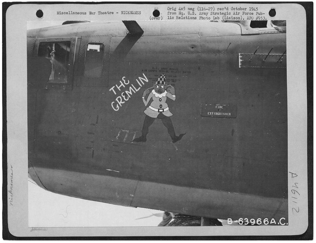 Рисунки на самолетах времен Второй мировой войны. Изображение № 5.