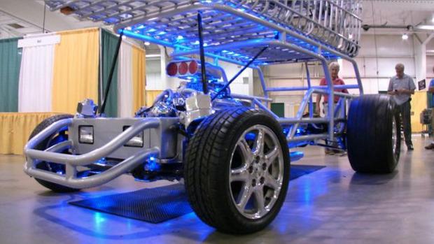 В США  тележку для супермаркета оснастили 290-сильным двигателем. Изображение № 7.
