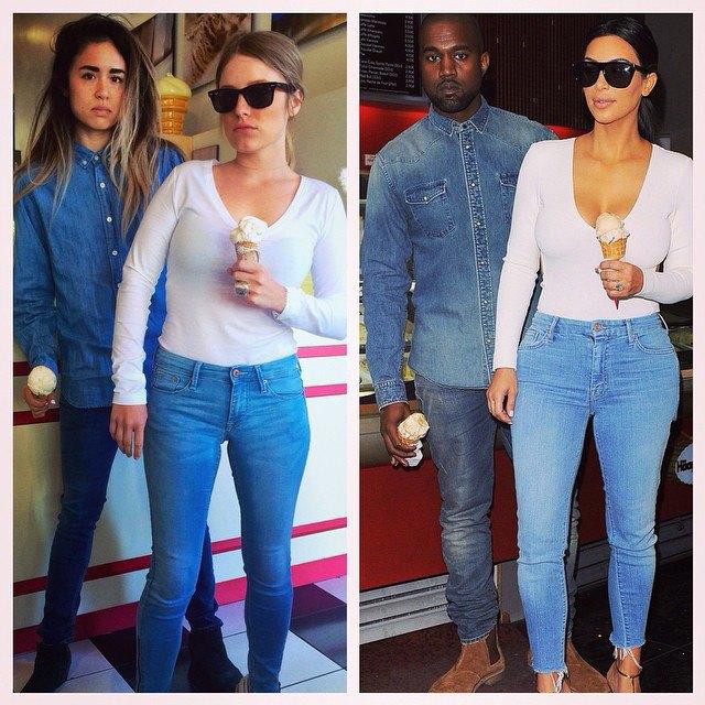 Косплей Канье Уэста и Ким Кардашьян в блоге What Would Yeezus Wear?. Изображение № 4.