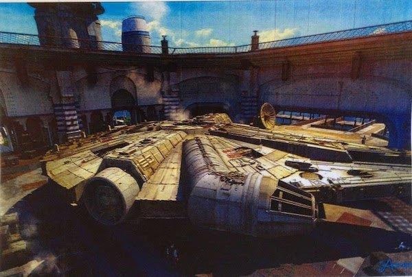 В сеть слили концепт-арт седьмого эпизода «Звёздных войн». Изображение № 4.
