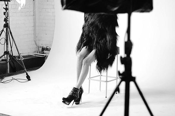 Дом моды: Репортаж со съемок видео модельного агентства. Изображение № 12.