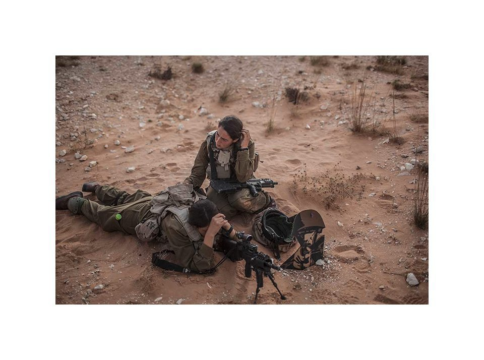 Фотопроект: Как служат женщины в армии Израиля. Изображение № 31.