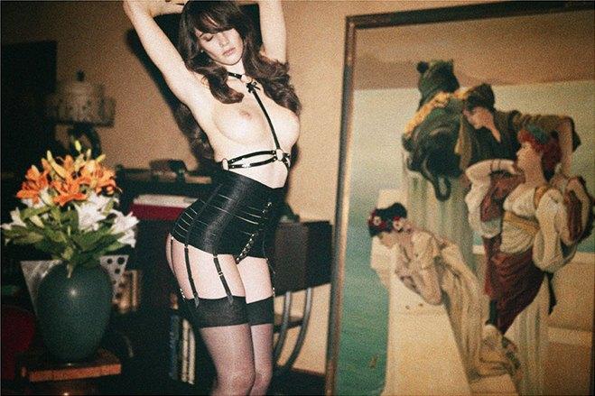 Чилийская модель Хамира Зулогада снялась в рекламе нижнего белья Mise en Cage. Изображение № 4.