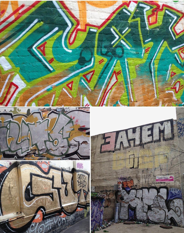 Стена славы: Граффити-карта Москвы. Изображение № 14.
