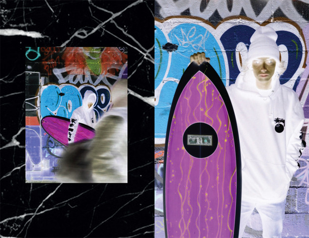Марка Stussy и коллектив художников Been Trill представили совместную коллекцию одежды. Изображение № 3.