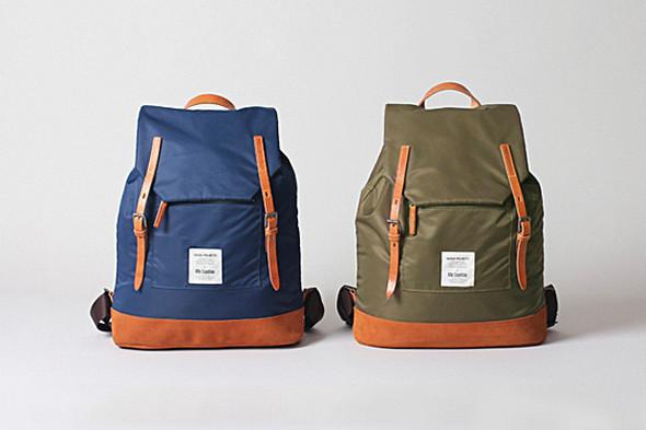 Новая модель рюкзака марки Norse Projects и бренда Ally Capellino. Изображение № 1.