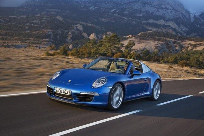 В Детройте представили новый Porsche 911 Targa. Изображение № 2.