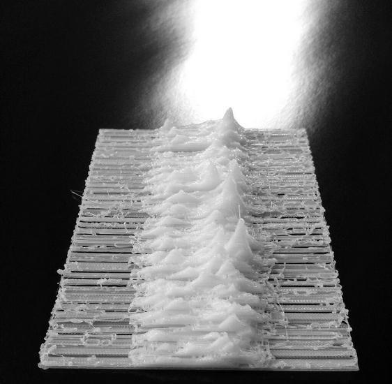 Обложку альбома Joy Division распечатали на 3D-принтере. Изображение № 2.