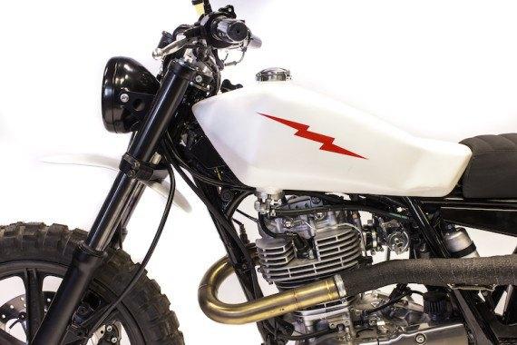Мотомастерская Deus Ex Machina представила кастом на базе Yamaha SR. Изображение № 9.