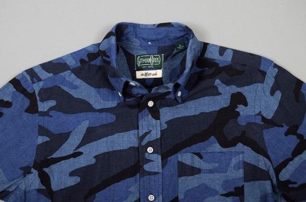Марка Gitman Bros. представила новую коллекцию рубашек своей линейки Holiday. Изображение № 2.