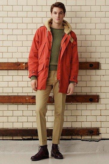 Марка Gant Rugger опубликовала лукбук осенней коллекции одежды. Изображение № 11.