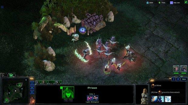 Геймер создал игру Warcraft IV на движке StarCraft II . Изображение № 3.
