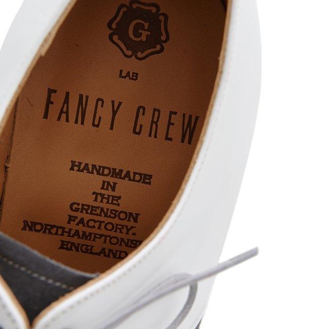 Магазин Fancy Crew и марка Grenson выпустили совместную модель обуви. Изображение № 3.