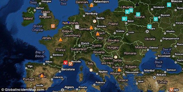 Создана интерактивная карта эпидемий. Изображение № 1.
