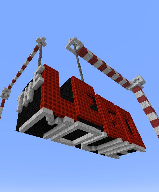 Режим «Творчество»: 25 кинопостеров, выполненных в стиле Minecraft. Изображение № 13.