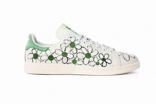 Adidas выпустит коллекцию кроссовок Stan Smith, вручную разрисованных Фарреллом. Изображение № 5.