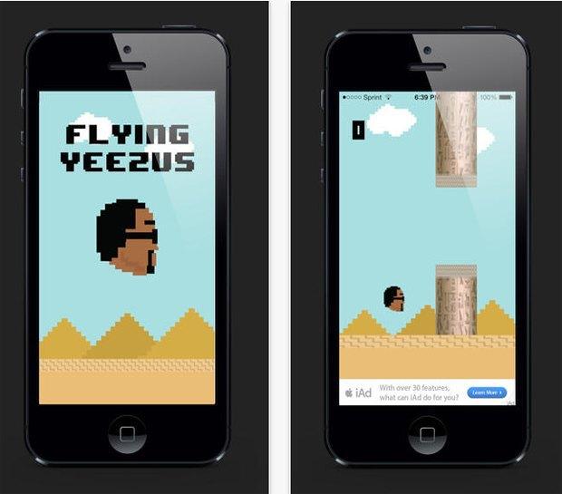 Канье Уэст выпустил собственную версию игры Flappy Bird. Изображение № 1.