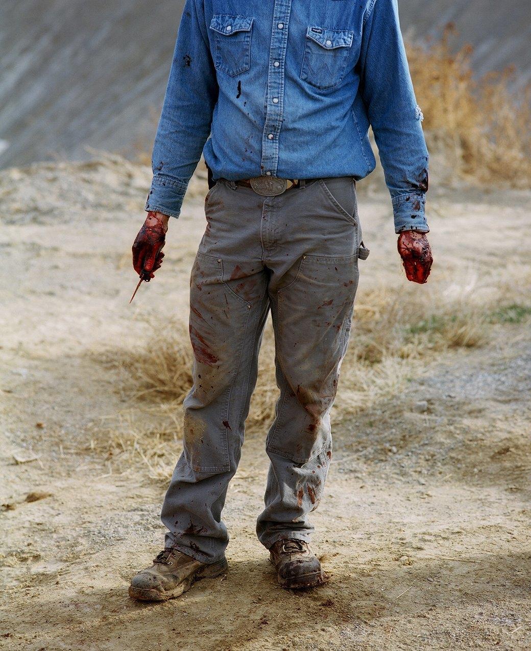 Бытовая жизнь работников бизоньего ранчо в США . Изображение № 24.