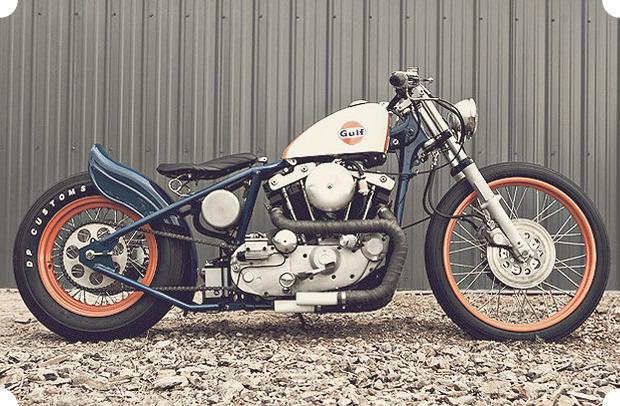 Сбросить вес: Гид по облегченным американским мотоциклам — бобберам. Изображение № 13.