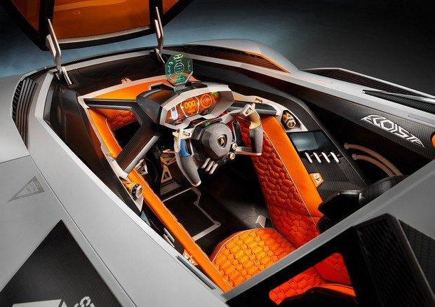 Lamborghini представили концепт одноместного суперкара Egoista. Изображение № 10.