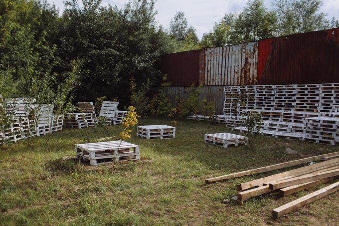 Фоторепортаж: Строительство объектов фестиваля Outline. Изображение № 50.
