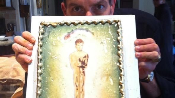 Чарли Шин испек себе пирог с изображением статуэтки Оскар в виде себя любимого.. Изображение № 11.
